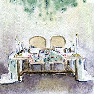 Chemins de table